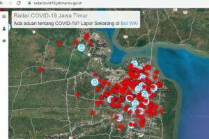 Pemprov Jatim Buat Data Lokasi Real Time Pasien Positif COVID-19