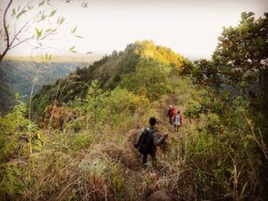 Paksa Muncak di Gunung Buthak Kota Batu, Seorang Pendaki Hilang