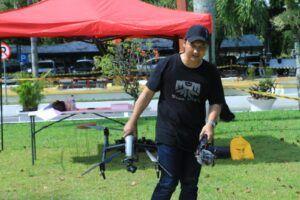 Bertemu Arya Dega, YouTuber yang Juga Aktivis Drone
