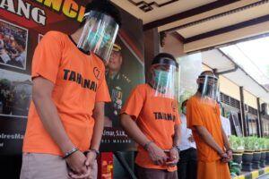 Polres Malang Ungkap Jaringan Narkoba Lapas Madiun dan Lapas Pamekasan