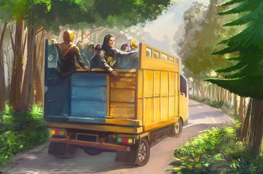 Tampilan poster film Tilik. Salah satu film pendek yang bisa ditonton gratis di YouTube (Foto: Dokumen)