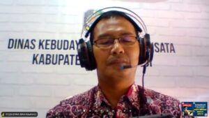 Kepala Dinas Kebudayaan dan Pariwisata (Disbudpar) Kabupaten Banyuwangi M Y Bramuda