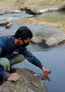 penelitian di sungai brantas malang