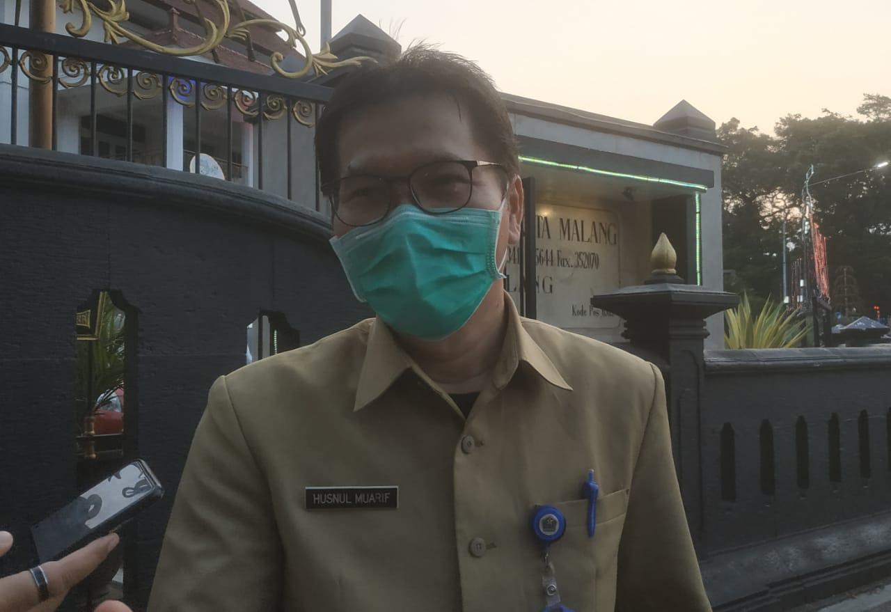 Juru Bicara Satgas COVID-19 Kota Malang, Husnul Muarif menanggapi terkait RS Lapangan di Malang