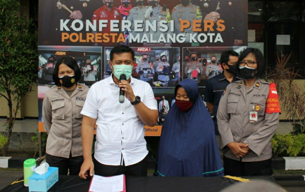 FA (24) pelaku anak yang menganiaya ibunya sendiri setelah viral di media massa ditangkap polisi