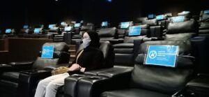 Menengok Suasana Nonton Bioskop Era New Normal di Malang