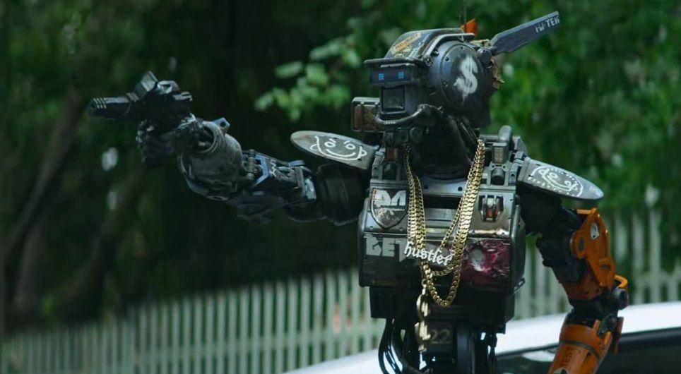 Chappie robot droid