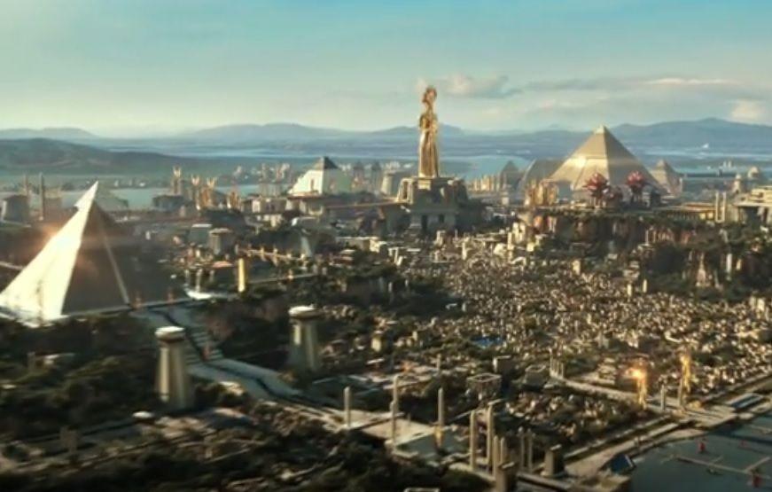 Gambaran kota di Mesir yang digambarkan dalam film Gods of Egypt. (Foto: IMDb)