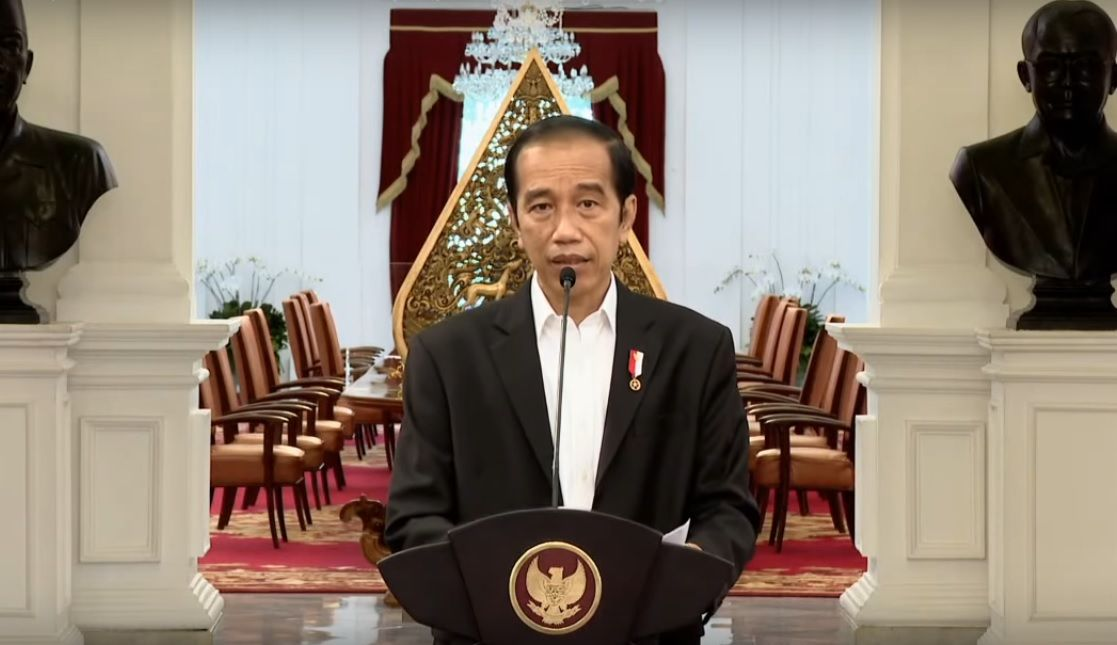 Jokowi kecam Presiden Prancis Emmanuel Macron yang menghina Agama Islam. Jokowi Ingin Indonesia jadi Tuan Rumah Olimpiade 2032