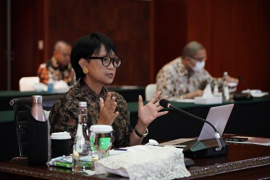 Menteri Luar Negeri RI, Retno Marsudi. perjanjian TCA indonesia dan singapura