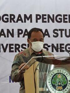 Rektor UM, Prof Dr H AH Rofi'uddin MPd
