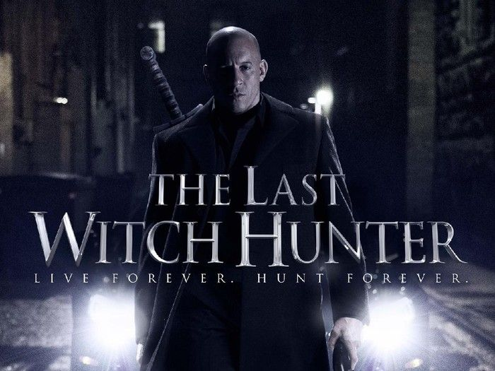 Vin Diesel The Last Witch Hunter poster