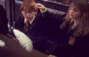 Hermione Ron Harry Potter