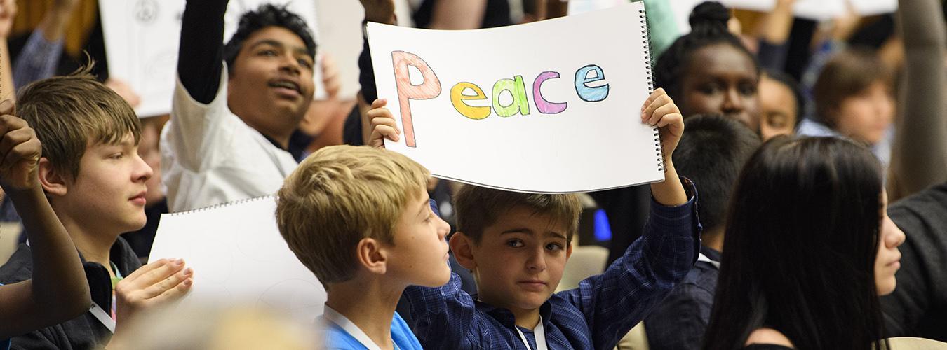 Hari Toleransi Internasional, 16 November. Kedamaian