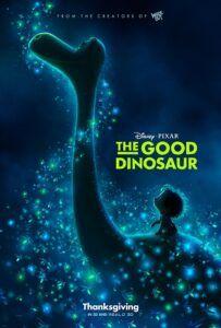 Poster film animasi The Good Dinosaour