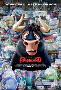 Poster film animasi Ferdinand