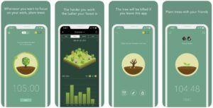 Aplikasi Manajemen Waktu Forest