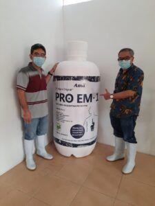 PRO EM-1, suplemen kesehatan prebiotik. (Foto: Dokumen)