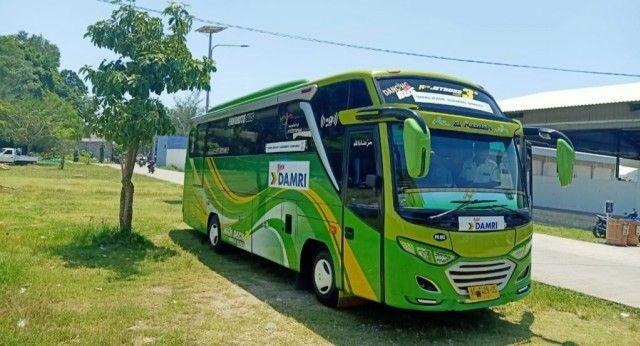 bus damri malang sendang biru balekambang