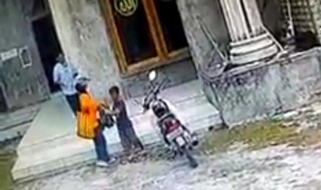 kasus dugaan maling kotak amal masjid di malang