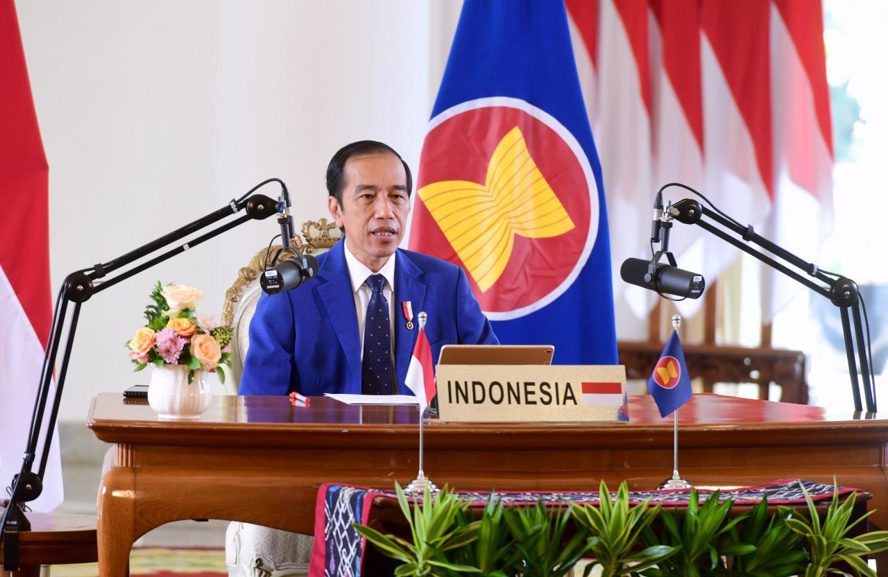 Presiden Jokowi. Jokowi: PBB Harus Berperan untuk Mencukupi Kebutuhan Vaksin Dunia