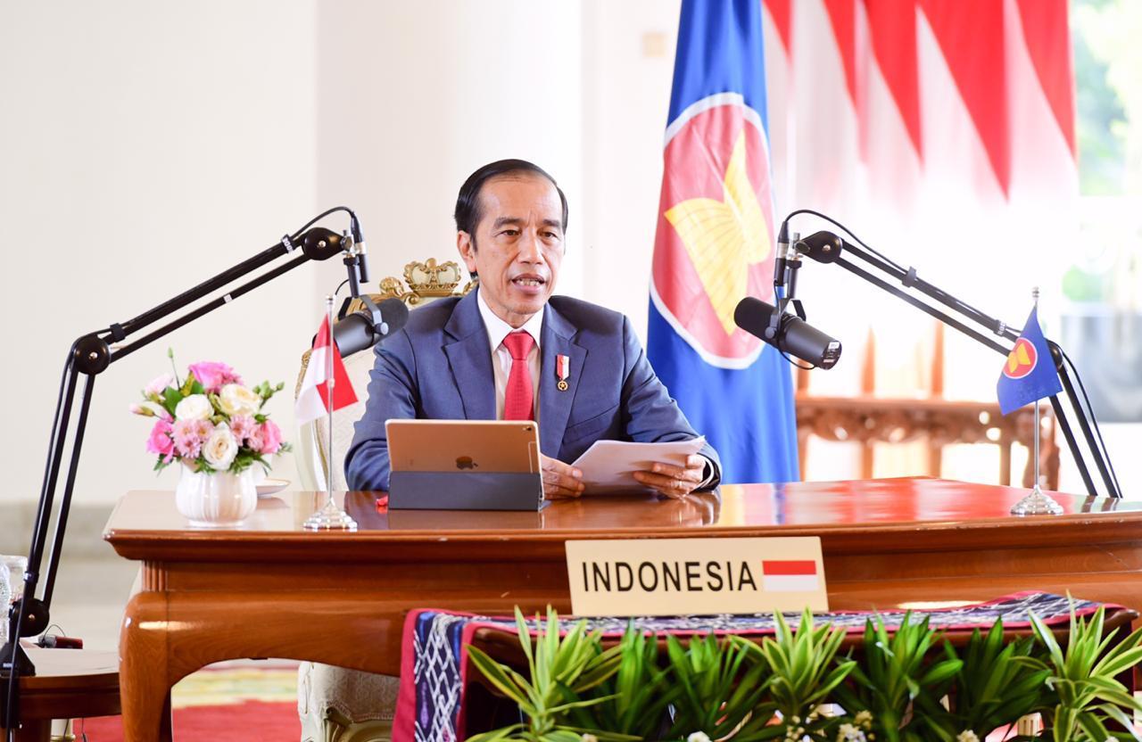 Jokowi hadiri KTT ASEAN-Jepang ke-23. Fokus Pemulihan Ekonomi Kawasan, ASEAN-Jepang Tingkatkan Kerja Sama