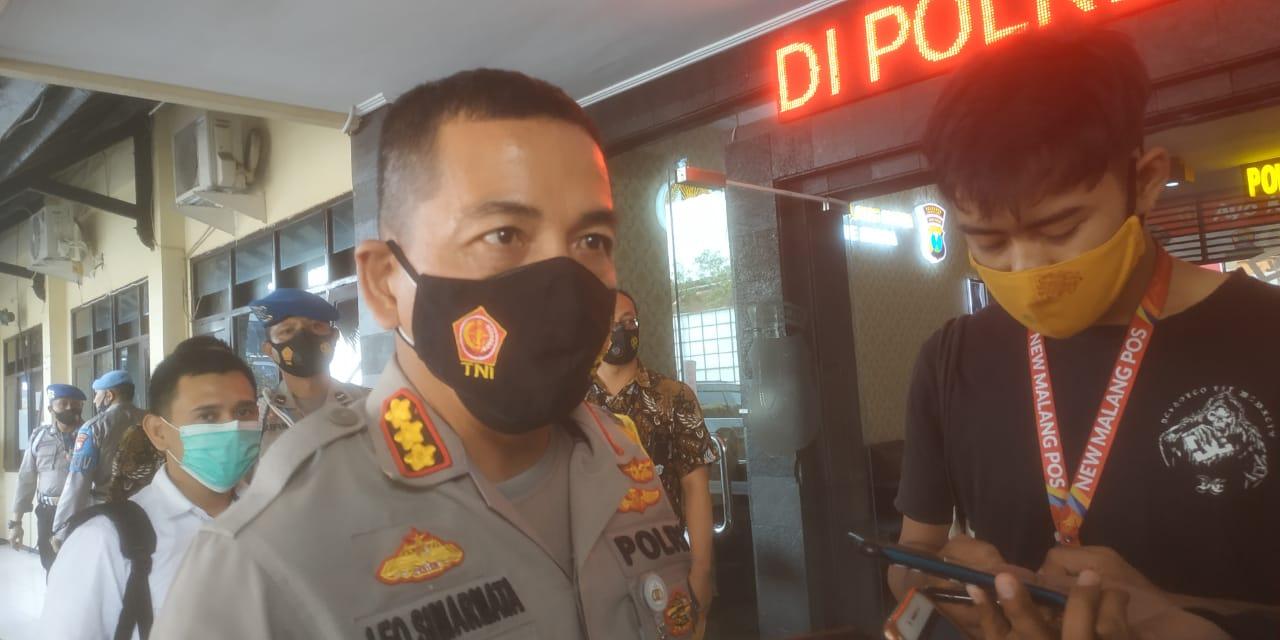 Kapolresta Malang Kota Kombes Pol Leonardus Simarmata (Foto: AZM)