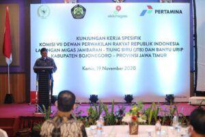 DPR RI Dukung Penuh Proyek Gas Jambaran-Tiung Biru di Bojonegoro