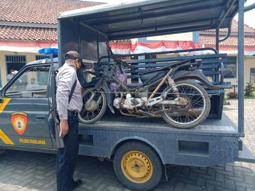 Polisi amankan barang bukti motor Pelaku Pembacokan di Malang: Teman Dekat Sekaligus Tetangga