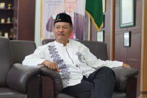 Rektor Universitas Islam Negeri Maulana Malik Ibrahim Malang Prof Dr Abdul Haris M.Ag.