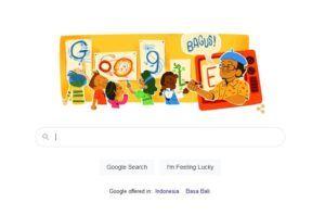 Google Doodle Tino Sidin