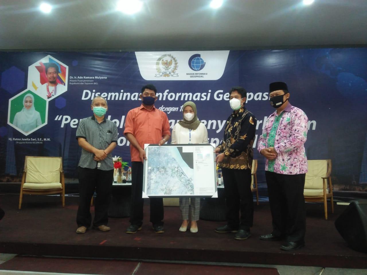 BIG bagikan peta desa untuk antisipasi konflik wilayah di Tuban
