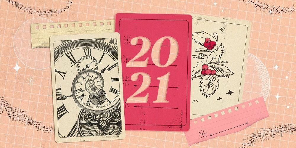Ilustrasi Resolusi Tahun 2021 dengan menulis jurnal pribadi