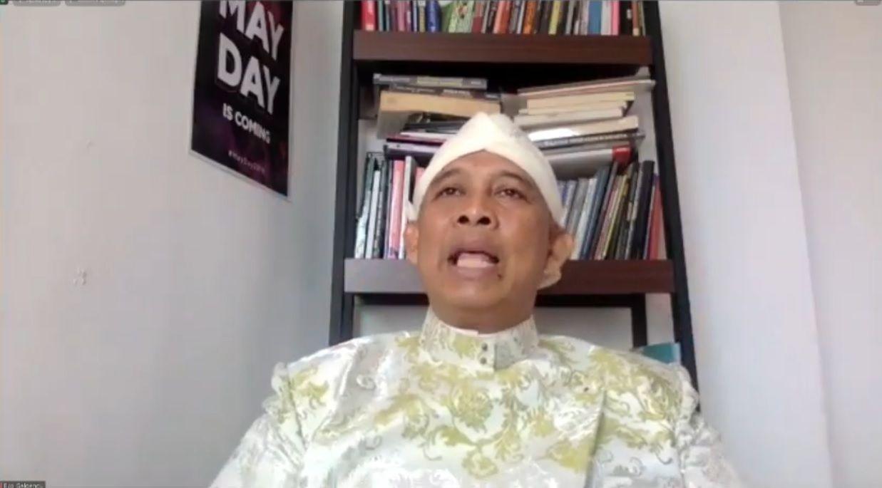 Eko Sriyanto Galgendu, Sahabat Gus Dur dan Ketua Gerakan Moral Rekonsiliasi Indonesia (GMRI). (Foto: Dokumen)