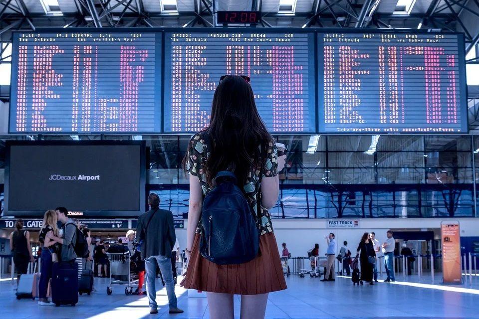 Ilustrasi bandara yang terdampak pandemi. (Foto: Pixabay)