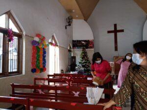 Bojonegoro Tetap Laksanakan Ibadah di Gereja dengan Terapkan Protokol Kesahatan