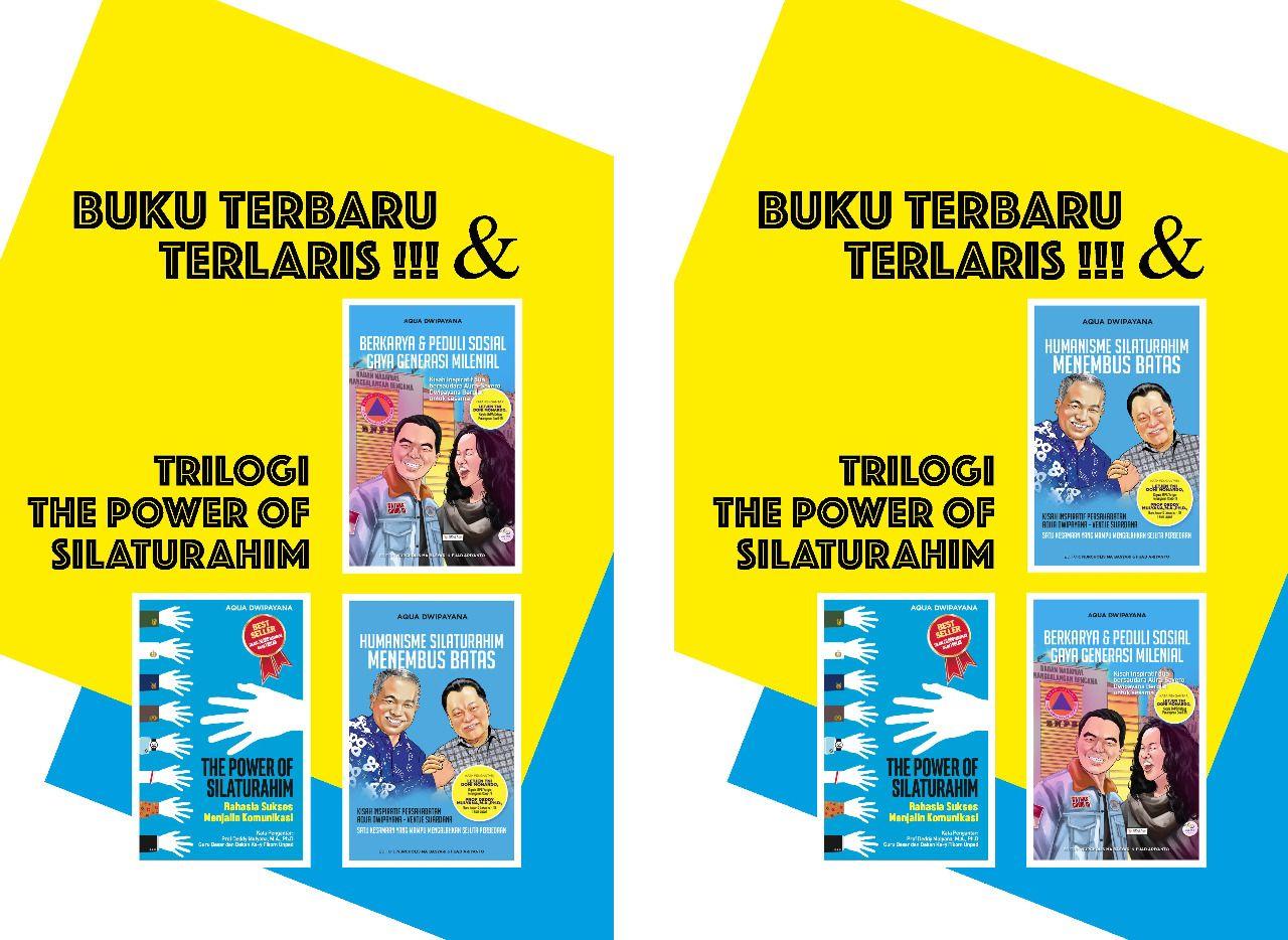 Buku Trilogi The Power of Silaturahim. (Foto: Dokumen)