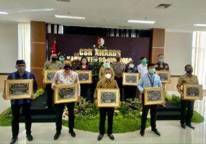 PEPC meraih CSR Award dari Pemkab Bojonegoro. (Foto: Dokumen)
