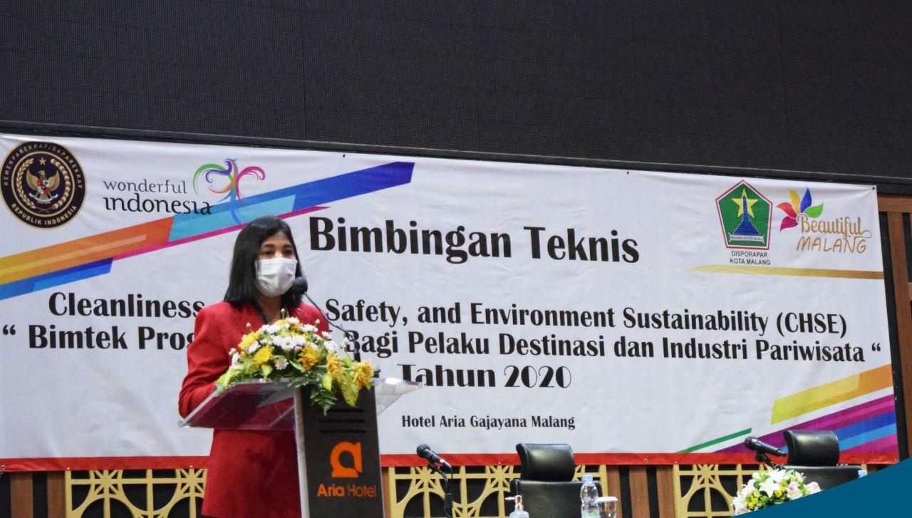 Kepala Dinas Pemuda, Olahraga dan Pariwisata Kota Malang, Ida Ayu Made Wahyuni. (Foto: Dokumen Disporapar Kota Malang)