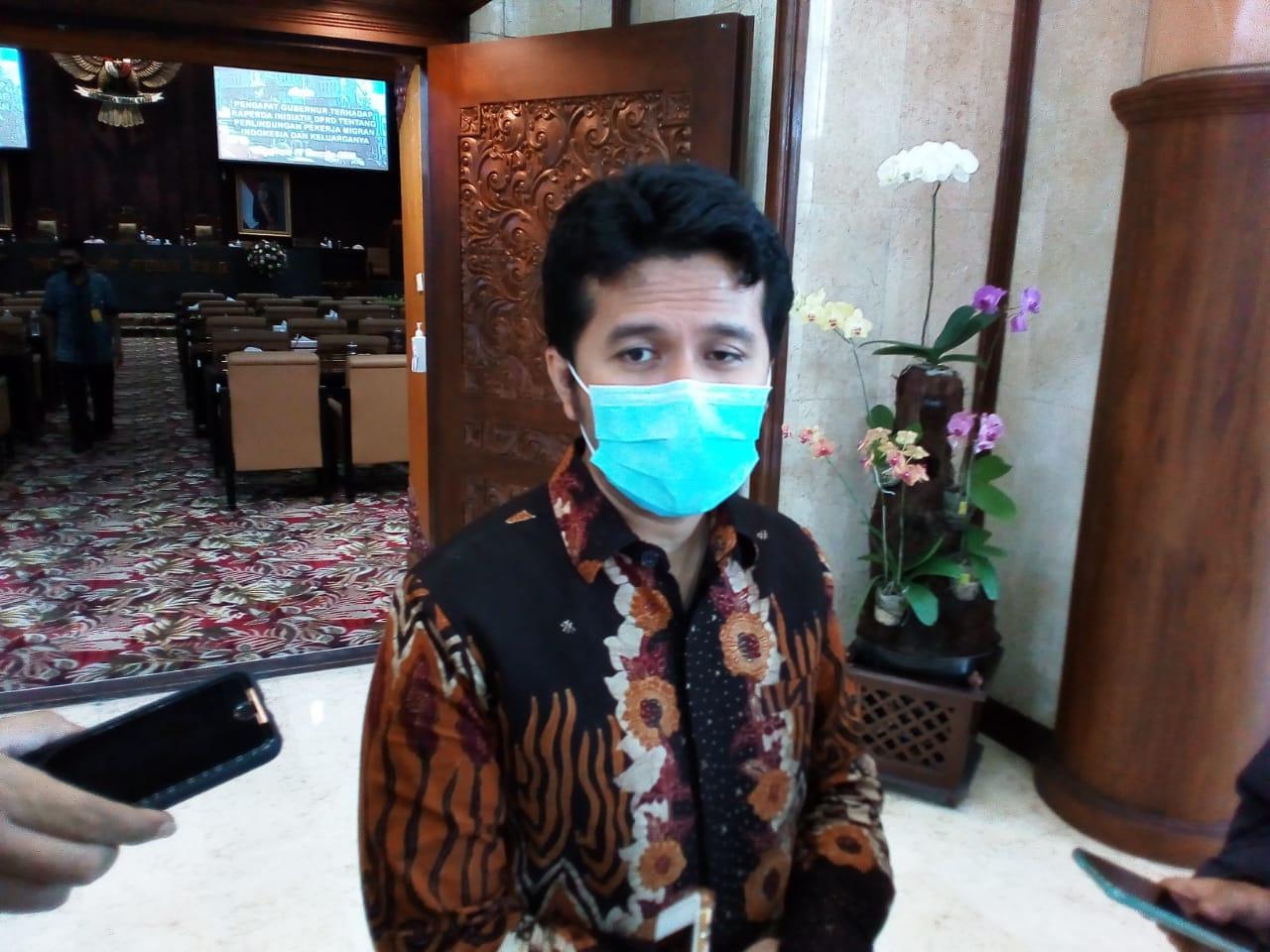 Wakil Gubernur Jatim, Emil Dardak saat ditemui usai rapat paripurna, Kamis (17/12/2020). (Foto: Rangga Aji/Tugu Jatim)