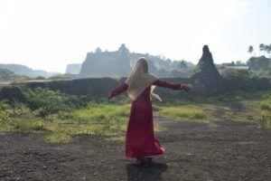 Gunung Kapur Bojonegoro ini banyak memiliki spot foto yang begitu Instagramble. (Foto: Mila Arinda/Tugu Jatim)