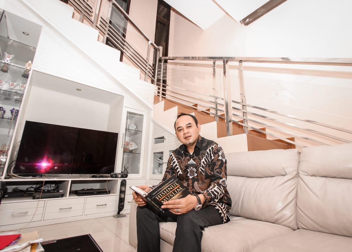 Mantan Ketua Real Estate Indonesia (REI) Malang Syukur Mursid Brotosejati alias Heri Mursid