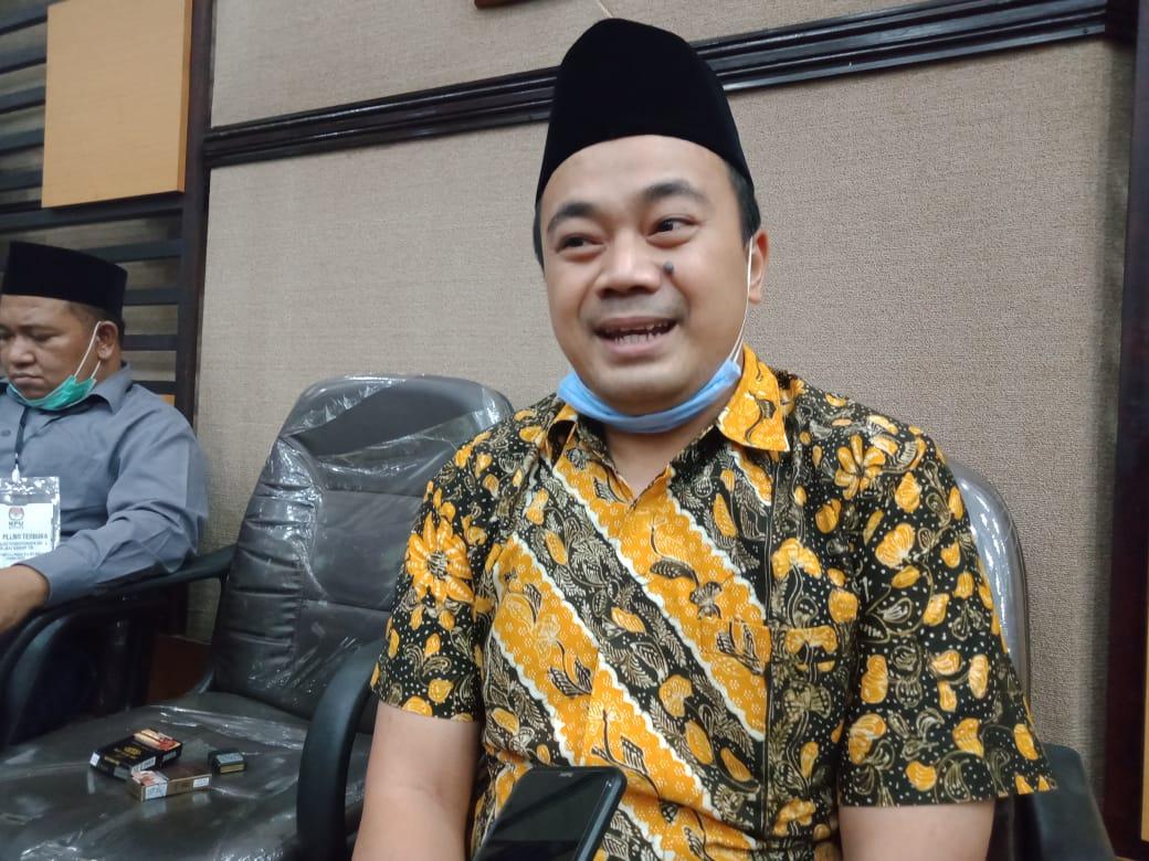 Muhammad Arbayanto selaku Divisi Hukum dan Pengawasan KPU Provinsi Jawa Timur. (Foto: Rap/Tugu Malang/Tugu Jatim)