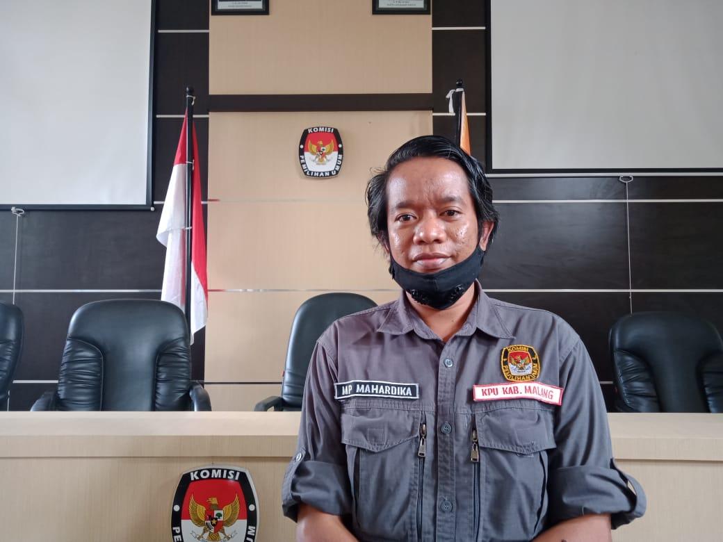 Ketua Divisi Sosialisasi Pendidikan Pemilih dan SDM KPU Kabupaten Malang, Marhaendra Pramudya Mahardika. (Foto: RAP/Tugu Malang/Tugu Jatim)
