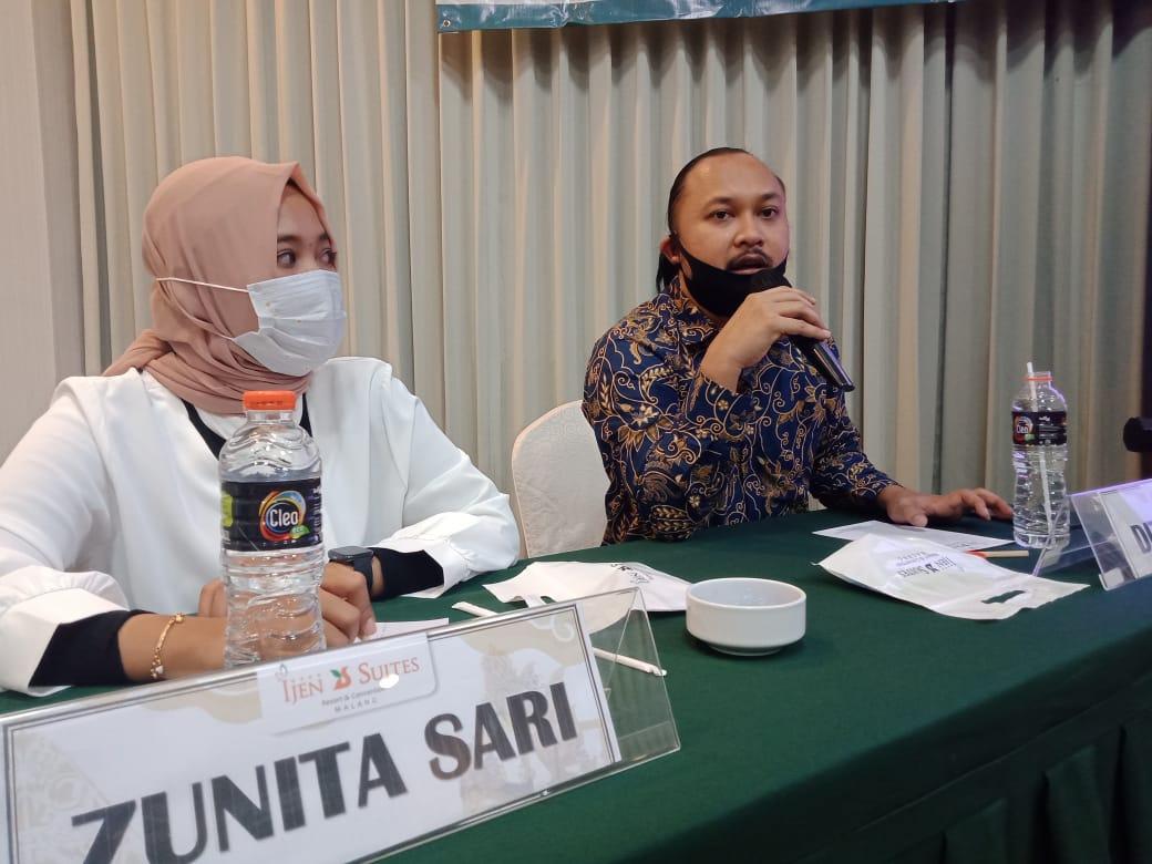 eneliti LSI Denny JA, Dito Arief. (Foto: Rap/Tugu Malang/Tugu Jatim)