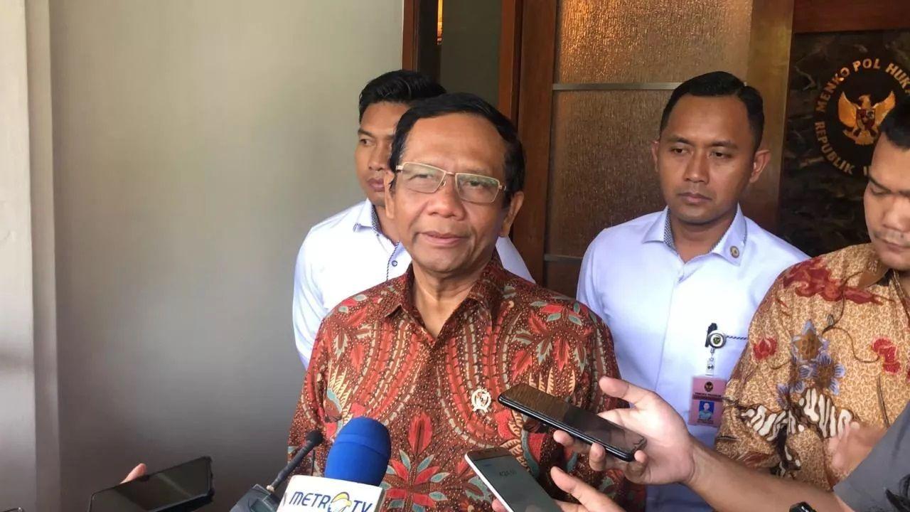 Menkopolhukam Mahfud MD menegaskan bahwa pemerintah Indonesia tak akan melakukan rekonsiliasi atau pemulihan hubungan dengan Habib Rizieq. (Foto: Kemenko Polhukam)