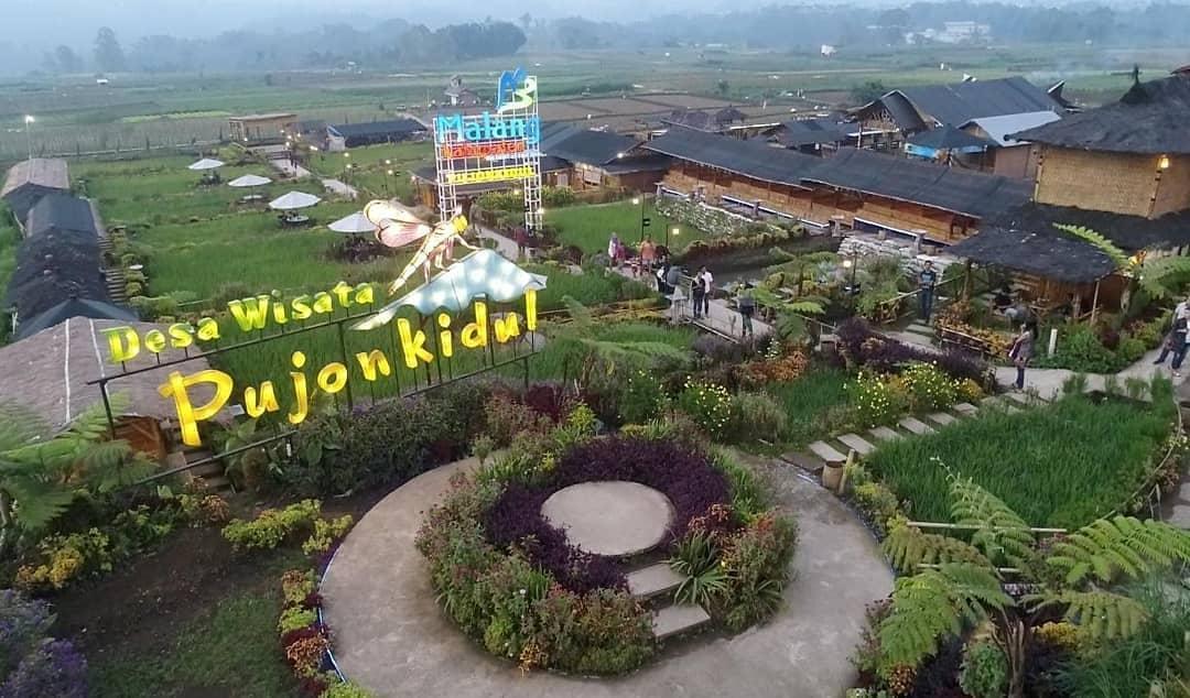 Destinasi wisata di Kabupaten Malang, Pujon Kidul. (Foto: Disparbud Kabupaten Malang)