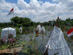 Wisata Negeri Atas Air di Bojonegoro. (Foto: Mila Arinda/Tugu Jatim)