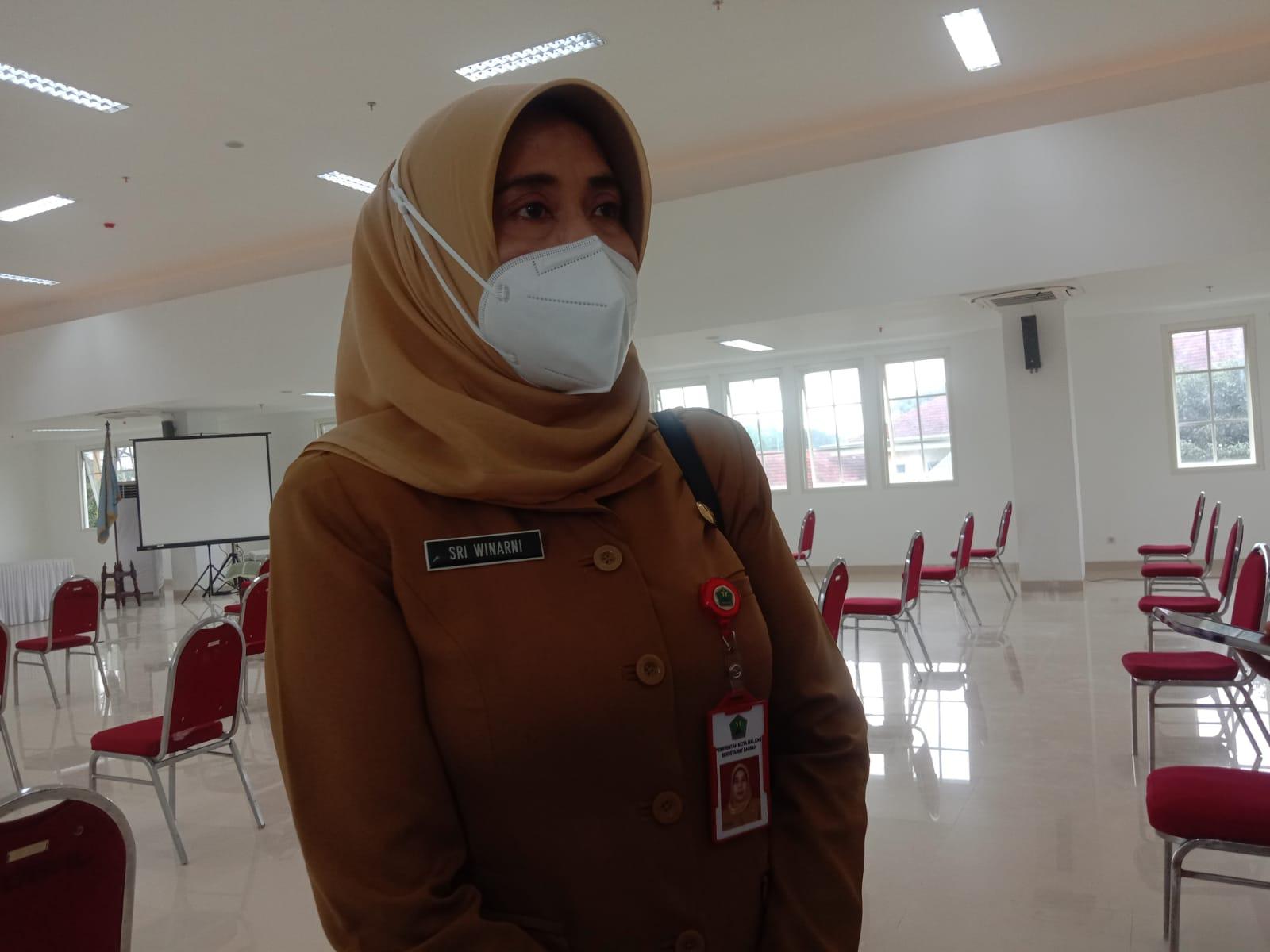 Plt Kepala Dinas Kesehatan (Dinkes) Kota Malang Sri Winarni. (Foto: Feni Yusnia/ Tugu Jatim)