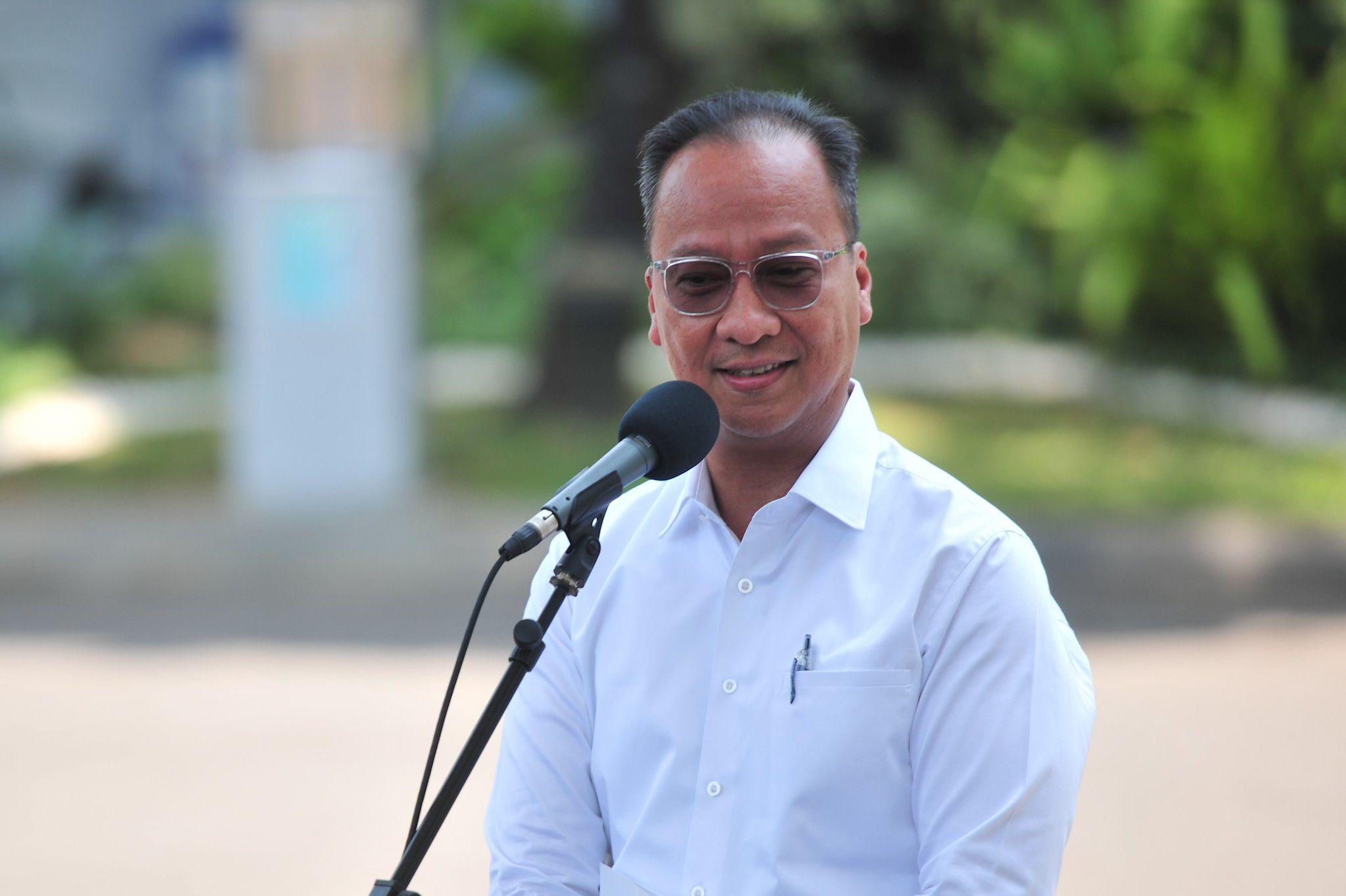Menperin Agus Gumiwang Kartasasmita (Foto: Dokumentasi Humas Setkab)